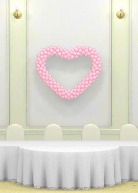 Beispiel: Hochzeitsdeko, Foto: Ballons & Ballons.