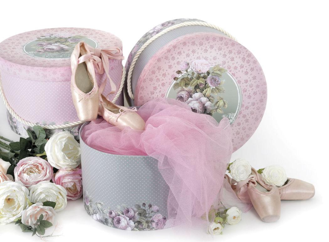 Boîte à chapeau mille roses