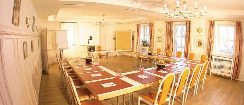 Beispiel: Konferenzraum Seehof Herrsching, Foto: Hotel Seehof Herrsching.