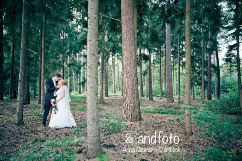 Beispiel: Portrait des Brautpaares, Foto: andfoto.
