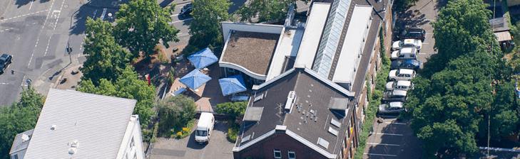 Beispiel: Luftaufnahme, Foto: Gutzeit.