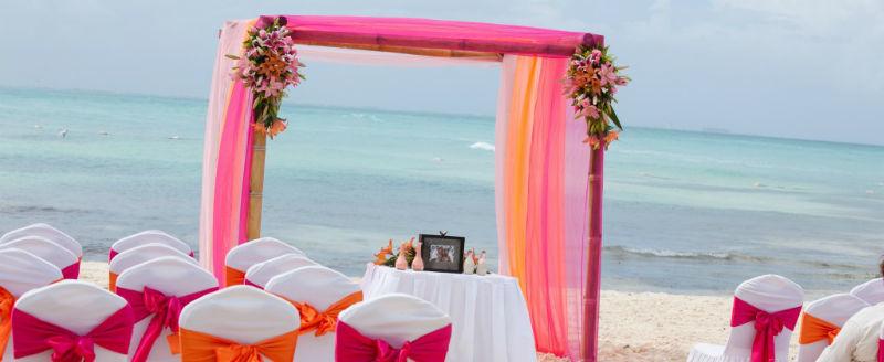 Location di matrimonio sulla spiaggia