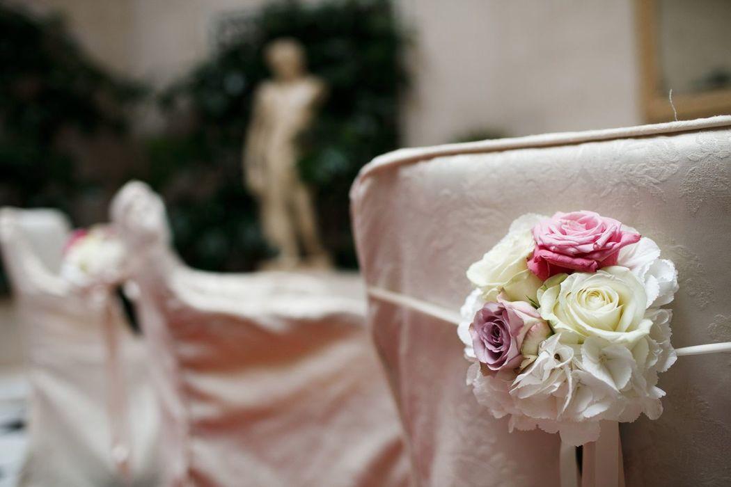 Blumenschmuck standesamtliche Trauung, Foto: Thomas Weinhold, Hochzeitslicht für Engel 07