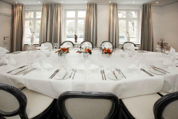 Beispiel: Hochzeitstafel, Foto: Gerbermühle.