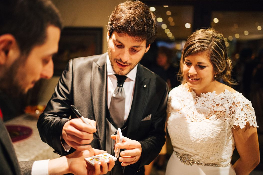 Close-up for  bridegrooms