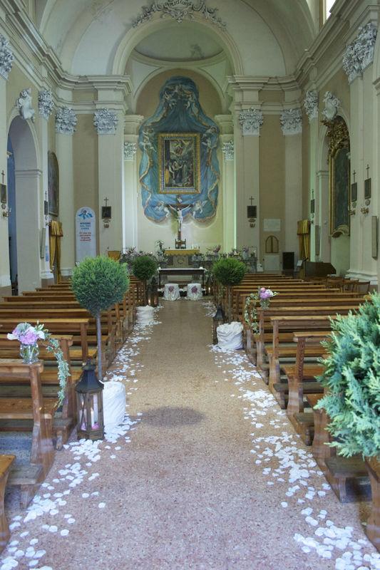 Decorazioni in Chiesa