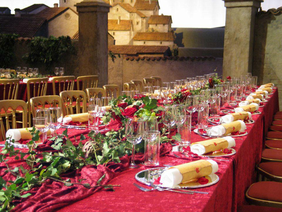Beispiel: Hochzeitstafel, Foto: Tip Top Table Catering.