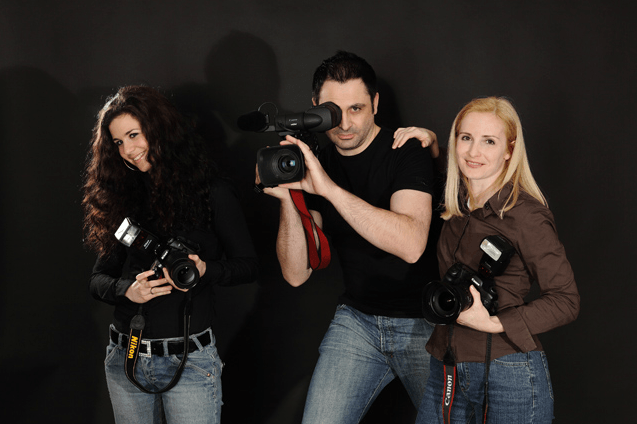 Beispiel: Das Team von Troy Productions, Foto: Troy Productions.