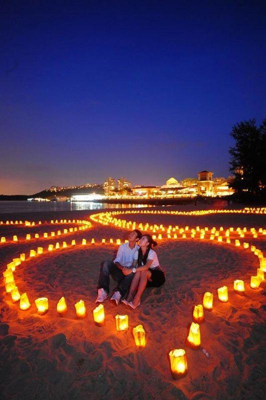 Las candle bags son una buena opción para hacer sorpresas romanticas.