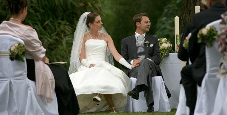 Beispiel: Brautpaar, Foto: Burg Schwarzenstein.
