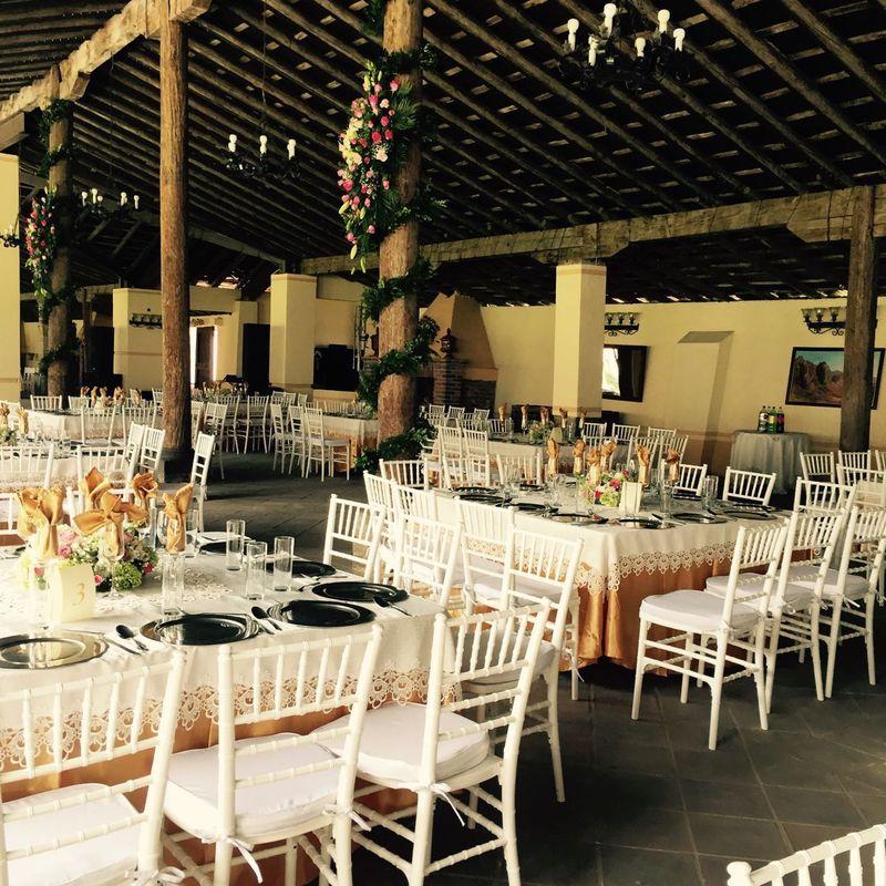 Salón La Era, desde una intima recepción hasta el mas amplio festejo tiene cabida aquí. -Hacienda Buenavista.
