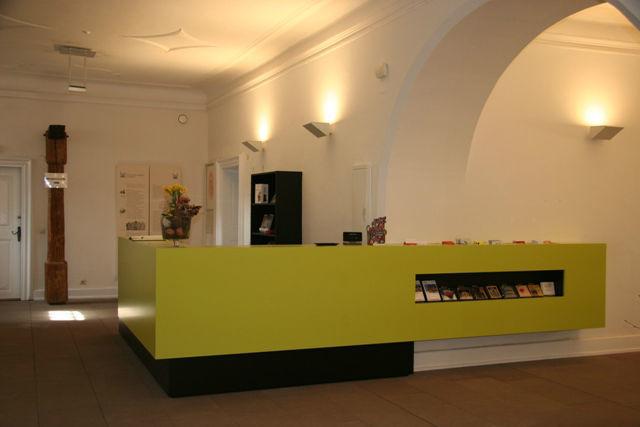 Beispiel: Empfang, Foto: Elztalmuseum Waldkirch.