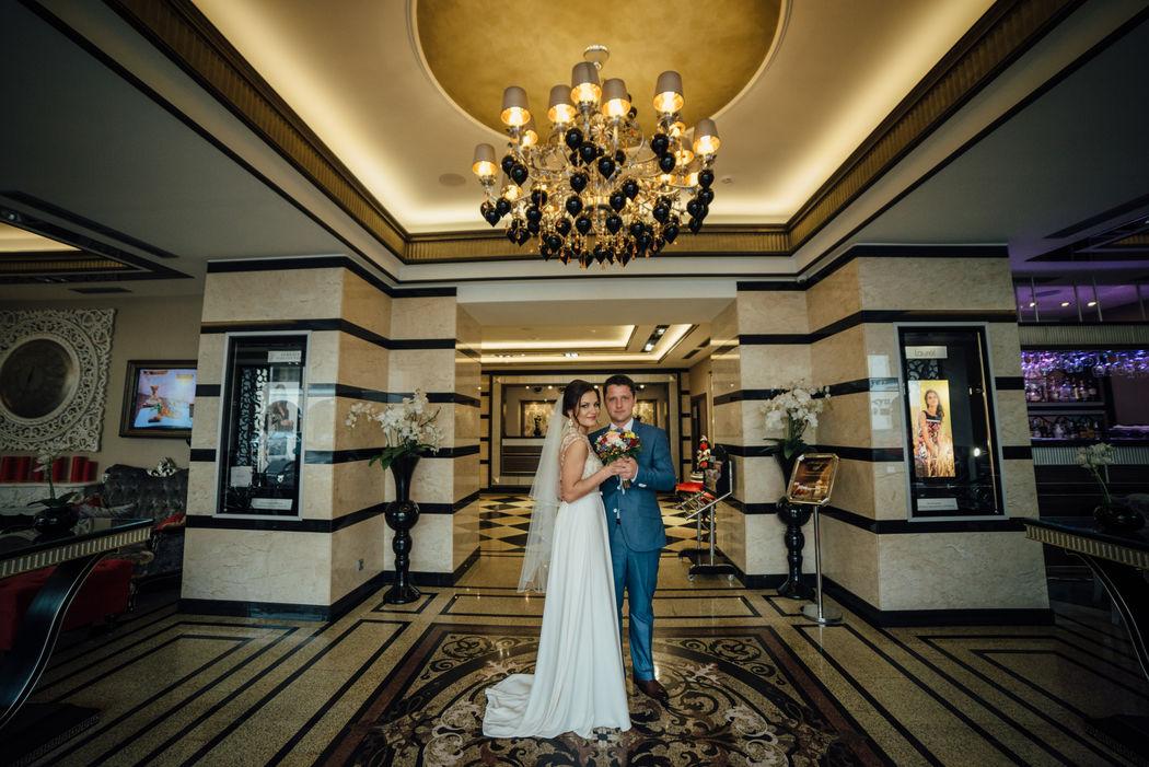 Свадебная фотосессия  в отеле