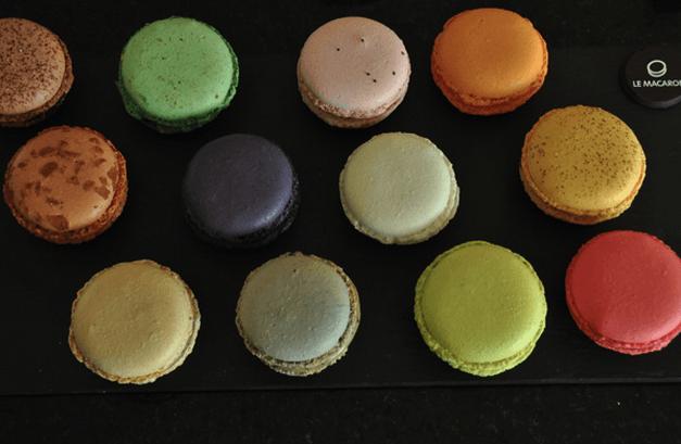 Macarons preparados con ingredientes de alto nivel - Foto Le Macaron Boutique