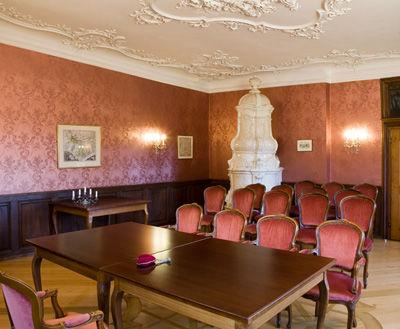 Beispiel: Trauzimmer, Foto: Wasserschloss Inzlingen.