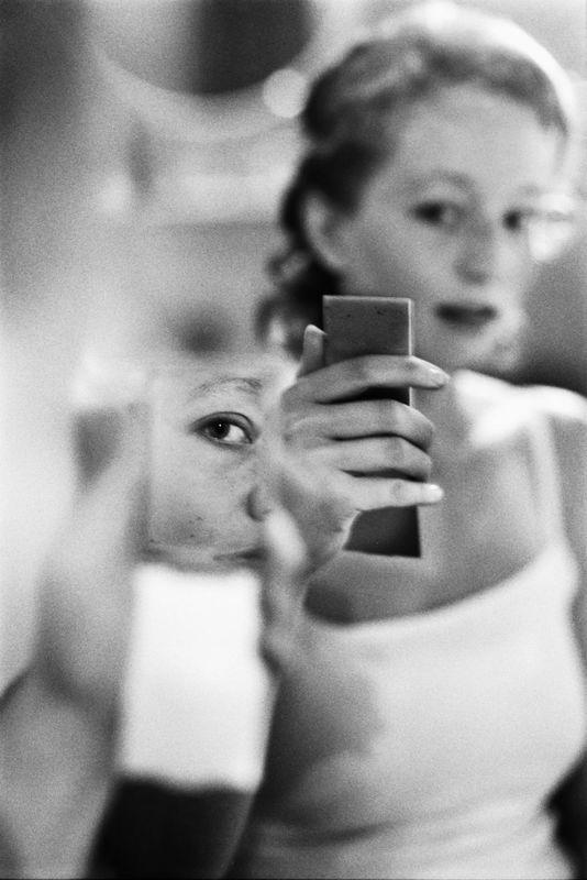 Reflets dans le miroir