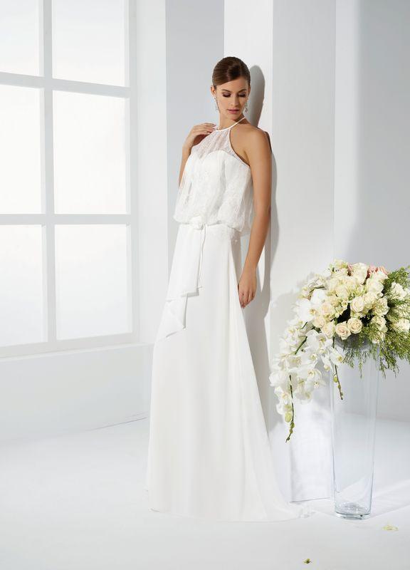 SAGA ivoire ou blanc - collection Un jour, une mariée