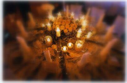 Beispiel: Tischdekoration, Foto: Gut Grafenried.