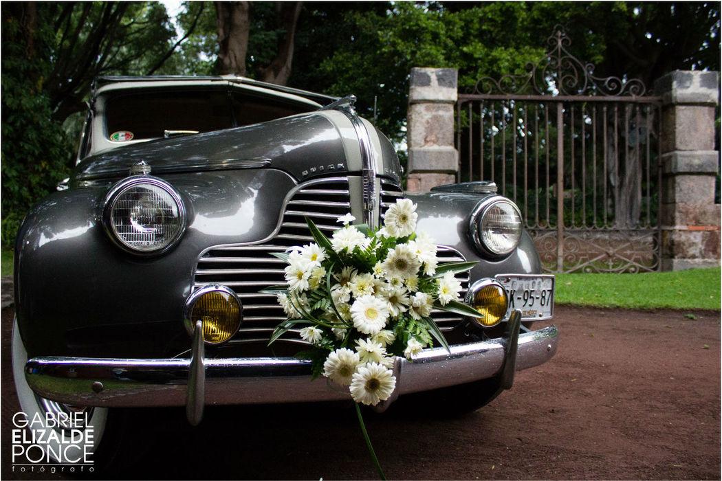 Carro de la novia