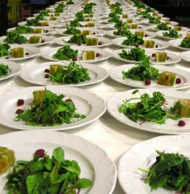 Beispiel: Einzigartige Menüs, Foto: München Catering.