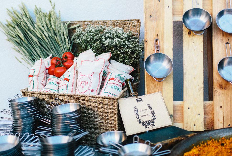 Decoración de puestos de comida Instagram, FB y TW: @naraconnection www.naraconnection.com