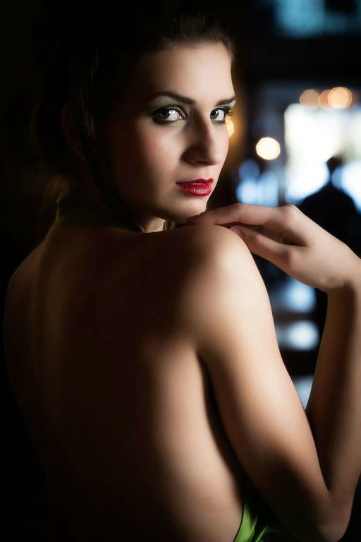 Beispiel: Perfekt geschminkt durch den Tag, Foto: Judy Stettler Make-up Artist.