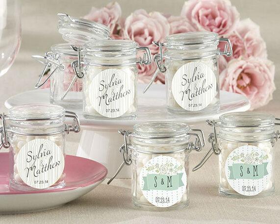 Románticos envases de vidrio Temática Rústica & Campestre