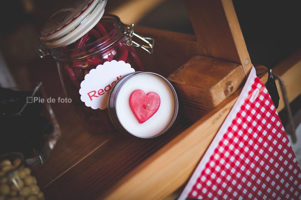 Dulces RetroCaravan El Botón Rosa