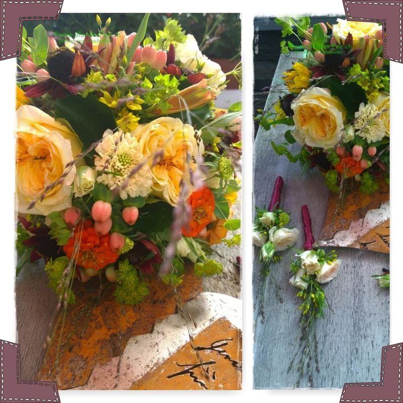 Blumendekoration von der Blumen-Fee Zürich