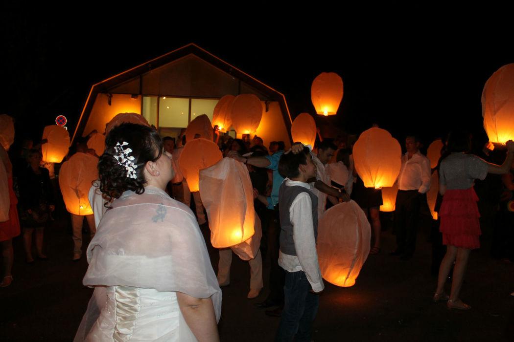 Lâcher de lampions par Event-Evenements