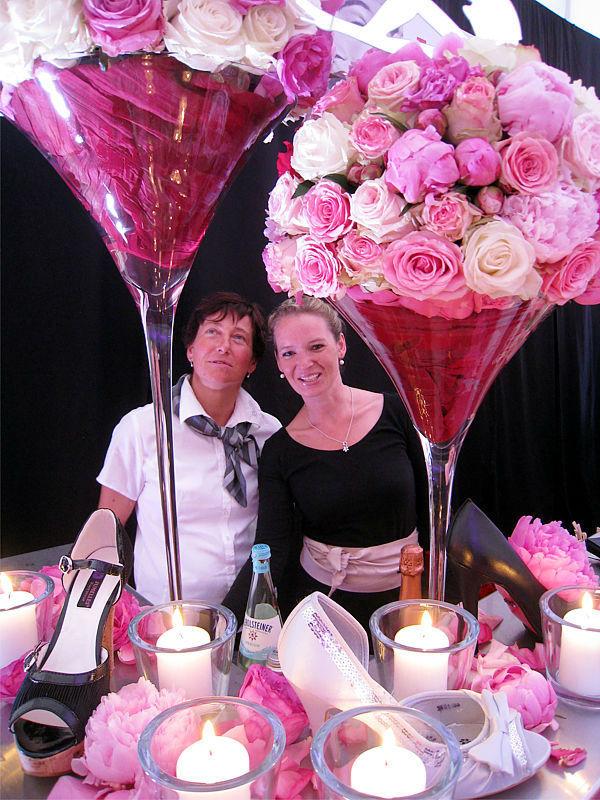 Beispiel: Einmalige Hochzeitsdekoration, Foto: Stiftl Catering und Events.