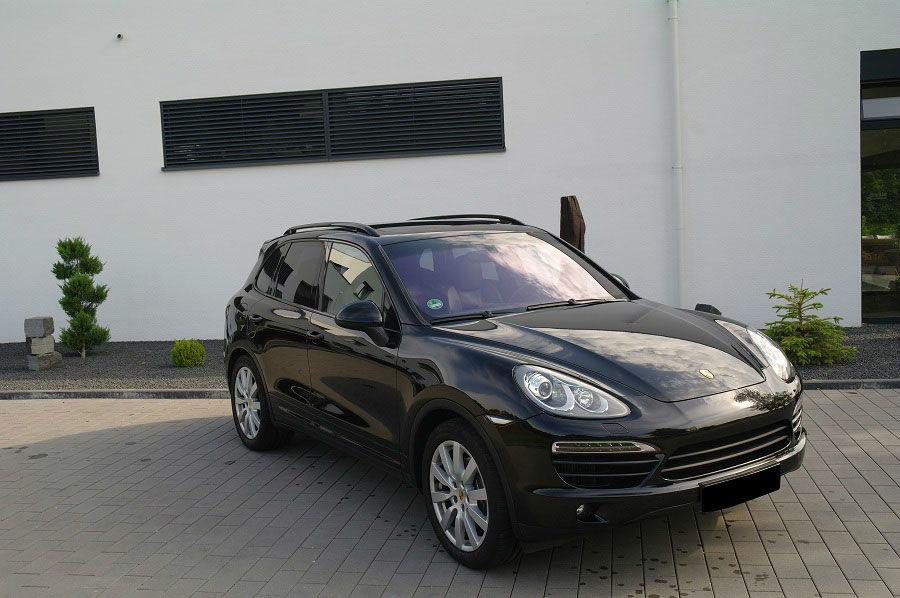 Beispiel: Porsche Cayenne, Foto: Exclusiv Autovermietung Drost.