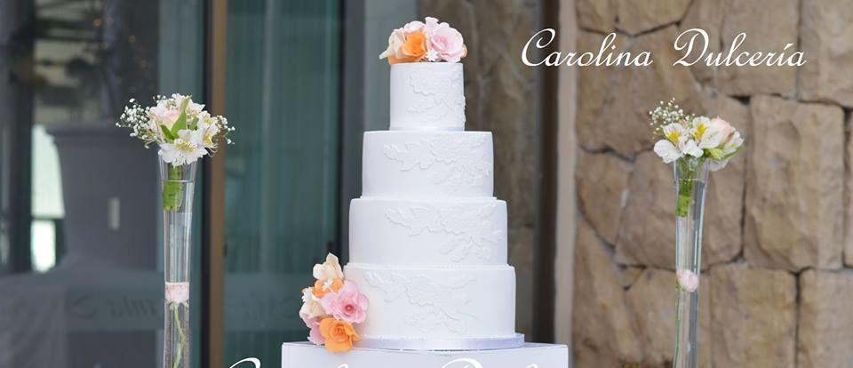 Torta arreglos florales