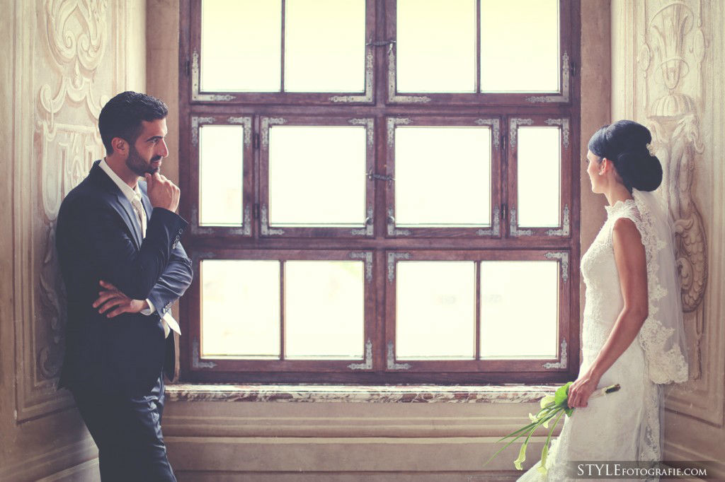 Beispiel: Romantische Hochzeitsfotos, Foto: Stylefotografie.