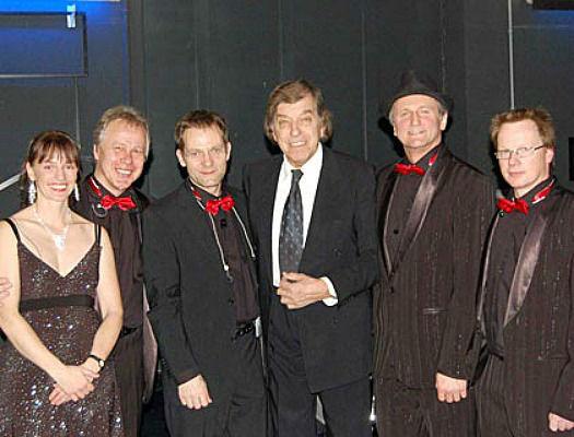 Beispiel: Sextett - Bandbesetzung, Foto: Klaus Hörmann Band.