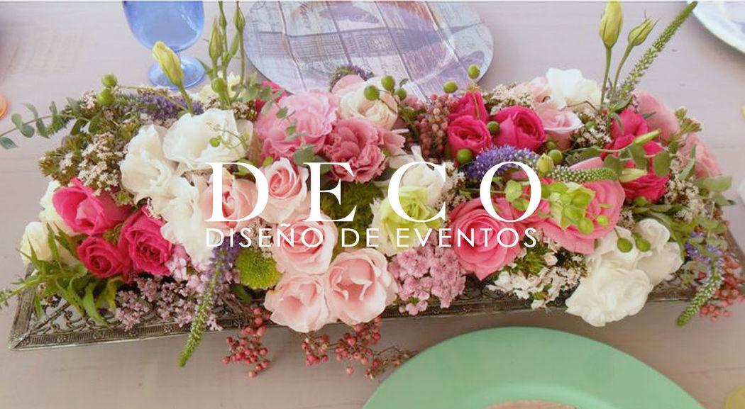 Centro de mesa bajo por DECO diseño de eventos.