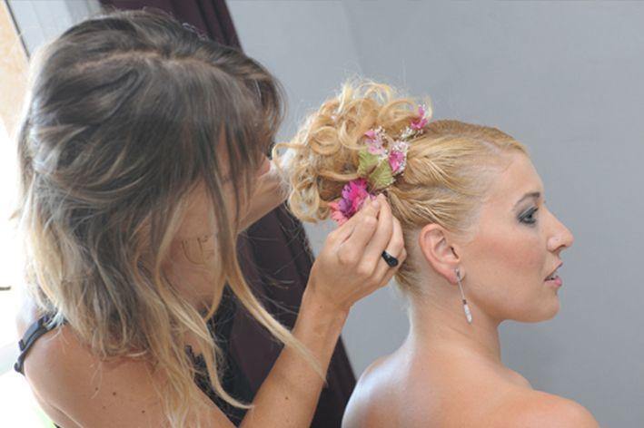 Recogidos altos y elegantes para novias