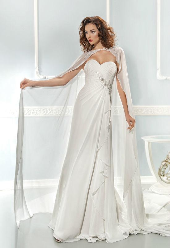 Beispiel: Wunderschöne Hochzeitsmode, Foto: Mode Wicky.