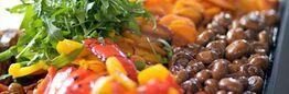 Beispiel: Menüs, Foto: Seepferdchen's Catering.