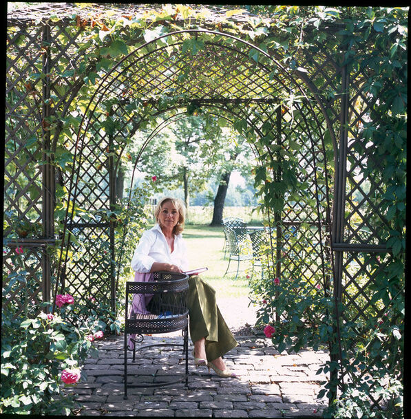 Beispiel: Rosengarten, Foto: Romantik Hotel Linslerhof.