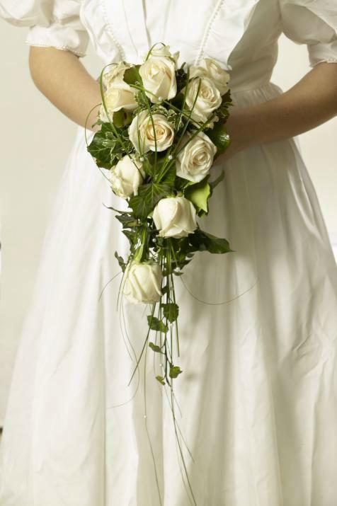 Beispiel: Brautsträuße, Foto: Blumen Schuster.