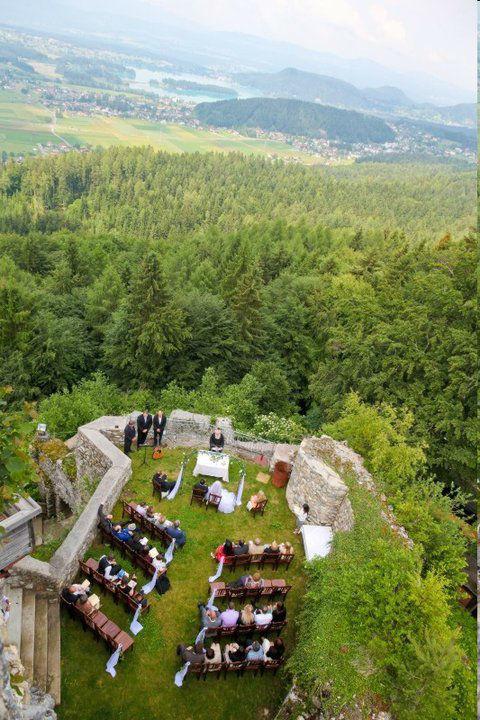 Beispiel: Ausblick auf´s Grüne, Foto: Burgarena Finkenstein.