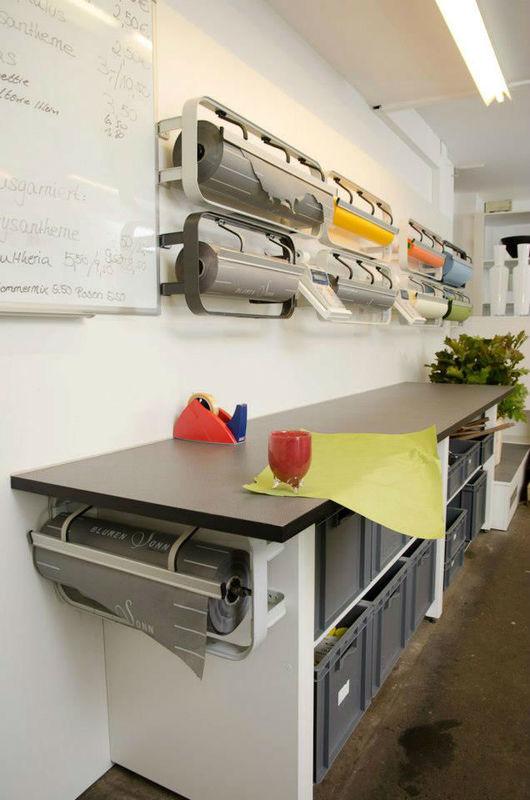 Beispiel: Arbeitsraum in Ostfildern, Foto: Blumen Sonn.