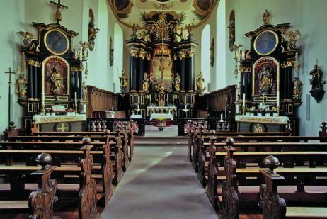 Beispiel: Kirche, Foto: Hotel Kronenschlösschen.