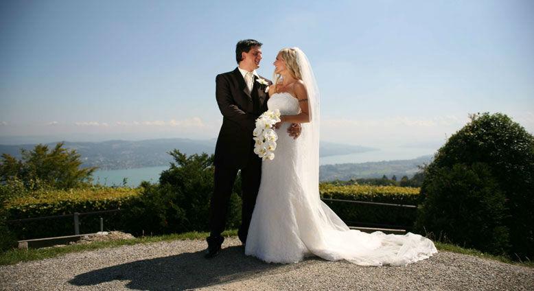 Tolle Kulisse für Hochzeitsfotos, Foto: Uto Kulm.