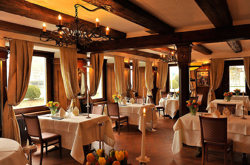 Beispiel: Restaurant, Foto: Rheinhotel Fischerzunft.