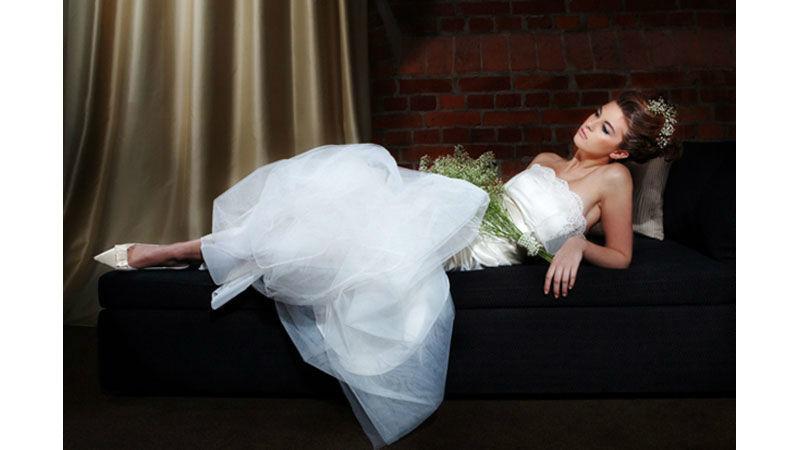 Beispiel: Die perfekt gestylte Braut, Foto: brautstyling-hamburg.de.