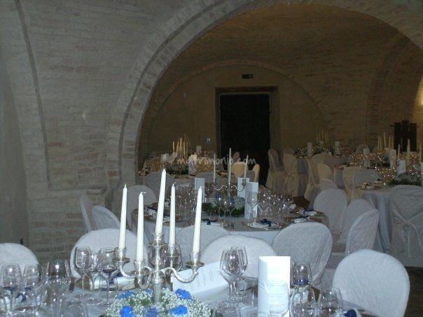 Tavoli imbanditi - Castello di Semivicoli