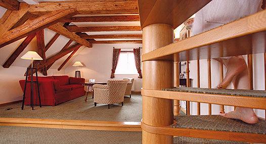 Beispiel: Hotelzimmer, Foto: Alte Rheinmühle.