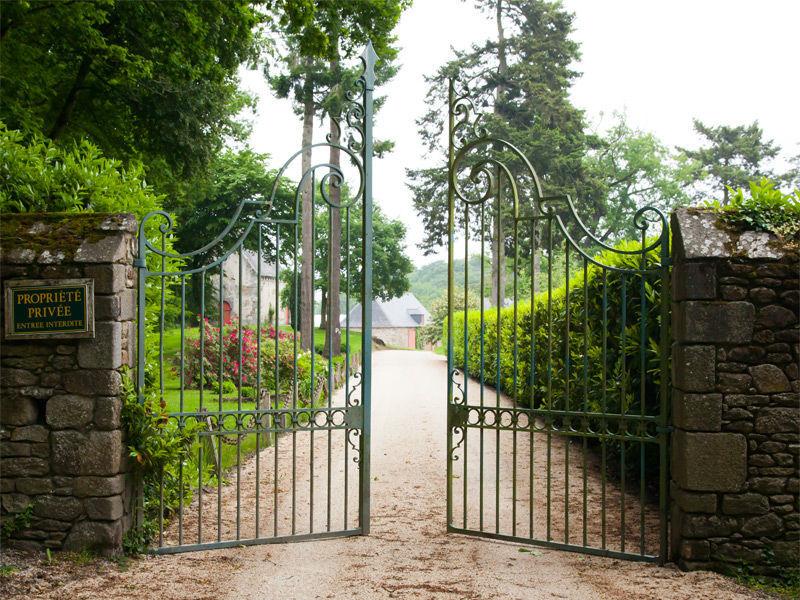 Château de Miniac Morvan - l'entrée